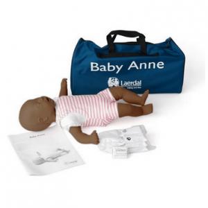 Laerdal Baby Anne donker in draagtas