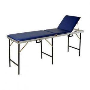Koffer massagebank 56 cm breed 3 delig met uitsparing