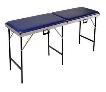 Koffer massagebank 70 cm breed 2 delig