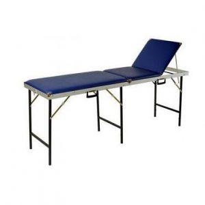 Koffer massagebank 70cm breed 3 delig met uitsparing