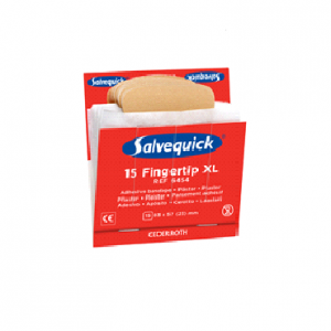Salvequick 6x navulling XL elastische vingertoppleister