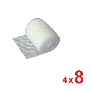 Cohesief elastisch fixatiewindsel 4m x 8cm