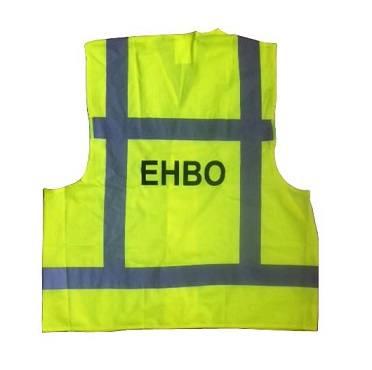 Hesje geel opdruk EHBO