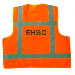 Hesje oranje opdruk EHBO