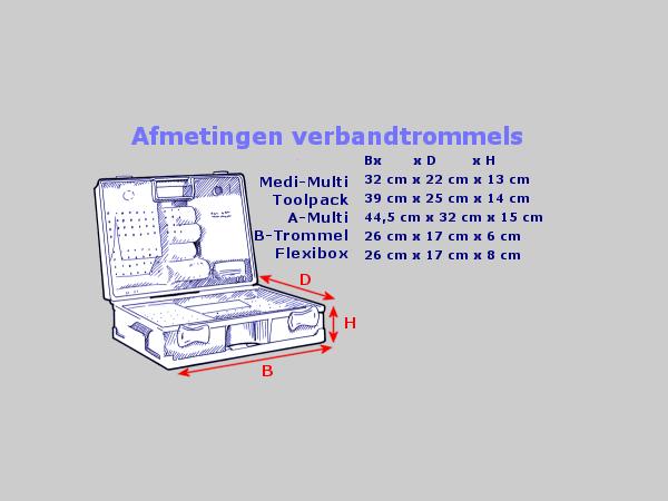 BHV verbandtrommel klein basis 2
