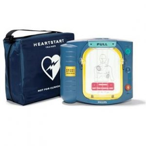 Philips Heartset HS-1 trainer