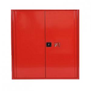 Quick BHV kast rood tbv Evac chair Afm: 110x125x30cm
