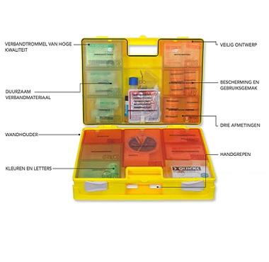 Resc-Q-Assist verbandkoffer B diverse kleuren 3